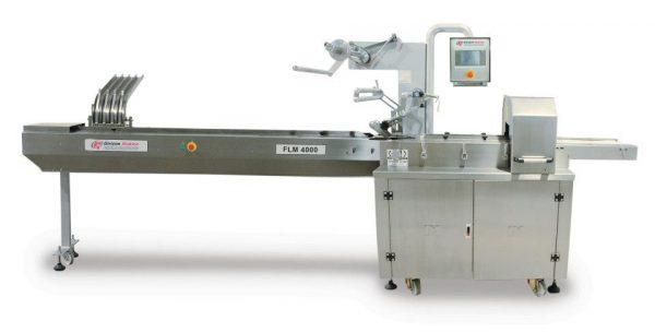 FLM 4000 HORIZONTAL FLOWPACK PACKAGING MACHINE