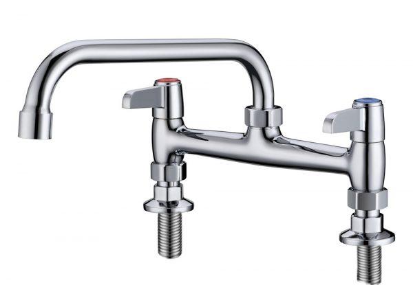 """Commercial Faucet, Sink Faucet, Kitchen Faucet 8"""" Centers"""