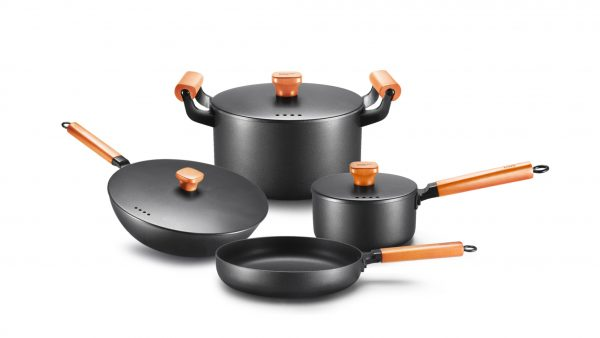 The Eastern Series Pressed Non Stick Cookware Set
